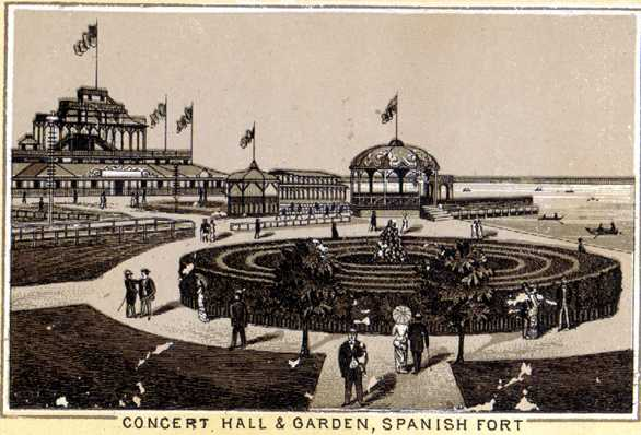 1823 - The fort was decommissioned and sold to resort developers in the area. They renamed the area 'Spanish Fort'.