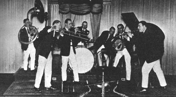 1924 Johnny Bayersdorffer plays Jazz at Spanish Fort