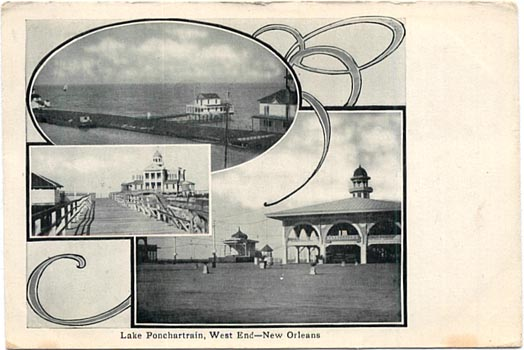 1900s montage of West End attractions