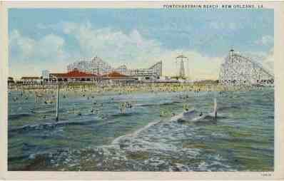 1928 Pontchartrain Beach opens at Spanish Fort