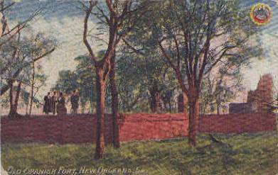 1910 Spanish Fort postcard