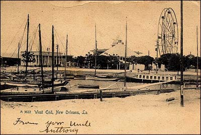 1909 West End Postcard