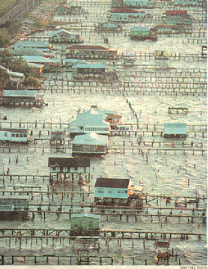 1980s or 1990s - View of Many camps