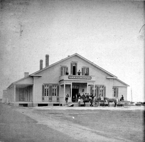 1870 The Lake House is destroyed in a fire