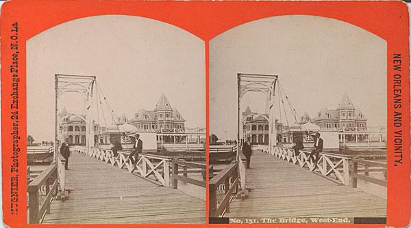 1880s Bridge over New Basin Canal at West End