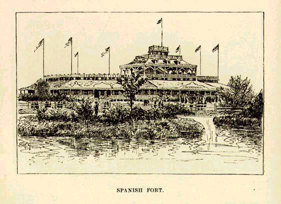 1874 Mark Twain writes about Spanish Fort