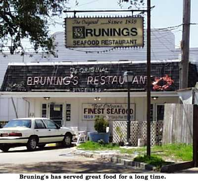 1839 - Brunings Restaurant Opens