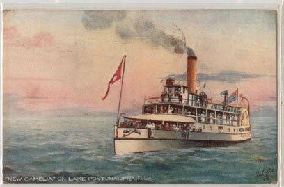 1900's ~The steamboat New Camelia